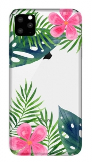 FUNNY CASE iPhone X / XS leaves and flowers