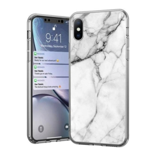 Wozinsky Marble iPhone 7 / 8 / SE 2020 white