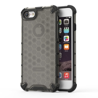Honeycomb armor iPhone 7 / 8 / SE 2020 black