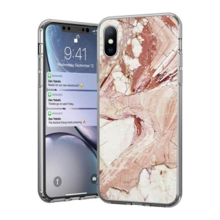 Wozinsky Marble iPhone 11 pink
