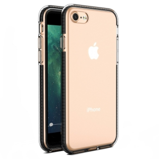 Kryt Spring iPhone 7 / 8 / SE 2020 black