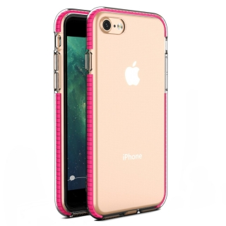 Kryt Spring iPhone 7 / 8 / SE 2020 dark pink