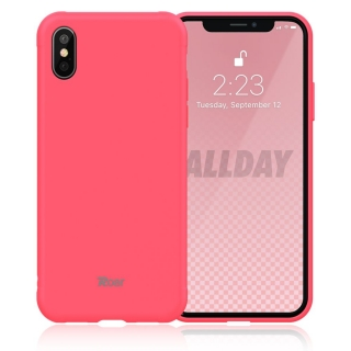 Roar Colorful Jelly iPhone X / XS hot pink