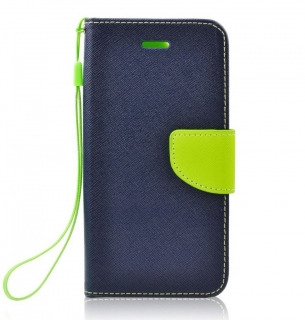 Fancy Book iPhone 6 Plus / 6S Plus navy-lime