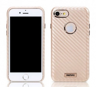 REMAX Carbon series iPhone 6 / 6S / 7 / 8 gold