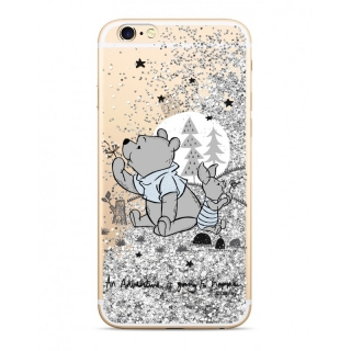 Púzdro Winnie The Pooh SAND Silver iPhone 5 / 5S / SE