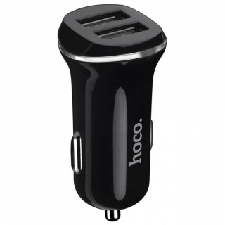 HOCO Z1 car charger 2x USB port 2,1A black