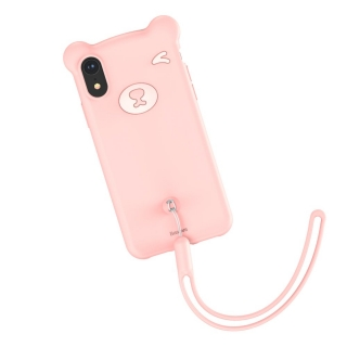 Baseus Bear iPhone XS MAX pink