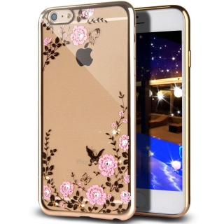 Forcell DIAMOND iPhone 5 / 5S / SE gold