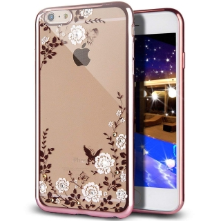 Forcell DIAMOND iPhone 5 / 5S / SE rose-gold