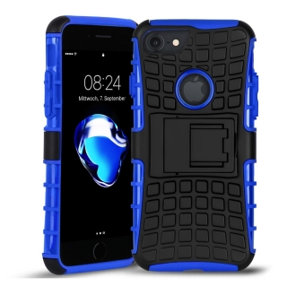 Forcell PANZER iPhone X / XS blue