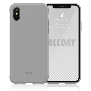 Roar Colorful Jelly iPhone X / XS grey