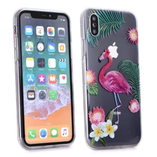 Forcell Summer FLAMINGO iPhone X / XS