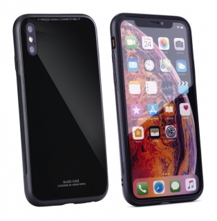 Forcell GLASS iPhone X / XS black