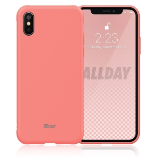 Roar Colorful Jelly iPhone X / XS peach pink