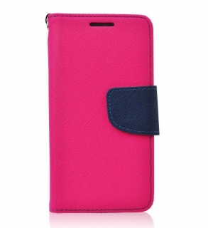 Fancy Book iPhone X / XS pink-navy