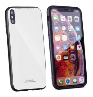 Forcell GLASS iPhone XS MAX white