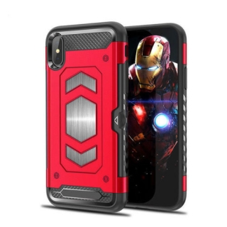 Forcell MAGNET iPhone XR red